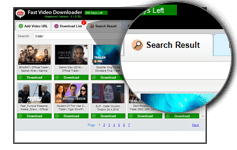 Fast Video Downloader Search Video